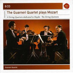 Guarneri Quartet Plays Mozart Quartets & Quintets
