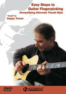 Easy Steps to Guitar Fingerpicking: Volumes 1-3