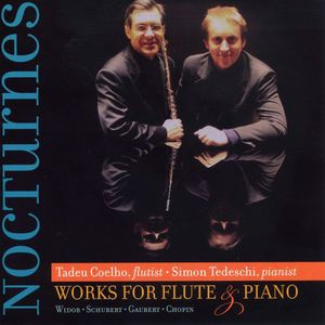 Nocturnes: Works for Flute & Piano-Widor Schubert