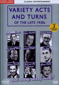 Variety Acts & Turns of the Late 1930s [Import]