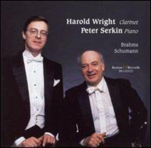 Brahms/ Schumann : Harold Wright Plays Brahms & Schumann