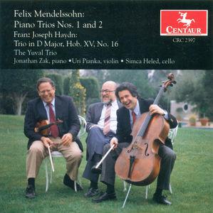 Piano Trios #1&2 /  Haydn: Trio in D Hob XV.16