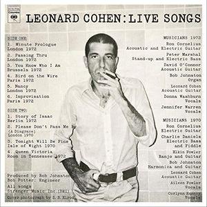 Leonard Cohen: Live Songs [Import]