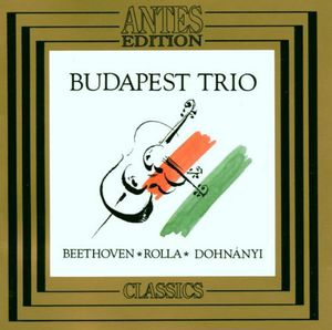 Budapest Trio Plays Rolla Beethoven /  Dohnanyi
