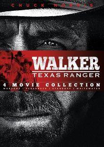 Walker Texas Ranger: Four Movie Collection (Warzone /  Flashback /  Standoff /  Whitewater)