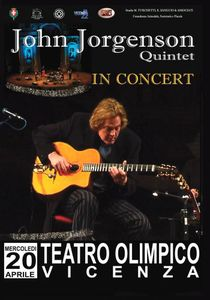John Jorgenson Quintet: In Concert--Teatro Olympico, Vincenza