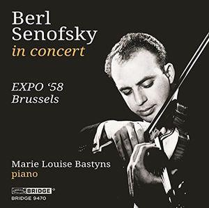 BERL SENOFSKY AT 'EXPO '58 BRUSSELS