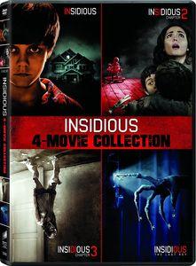 Insidious/ Insidious: Chapter 2/ Insidious: Chapter 3/ Insidious: The Last Key - DVD + Digital