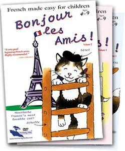 Bonjour Les Amis!: Complete Set