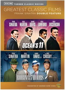TCM Greatest Classic Films Double Feature: Frank Sinatra (Ocean's 11 /  Robin and the 7 Hoods)
