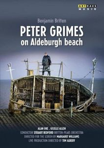 Peter Grimes on Aldeburgh Beach
