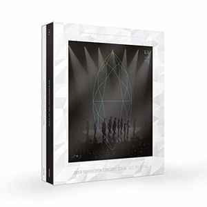 2018 SEVENTEEN CONCERT 'IDEAL CUT' IN SEOUL (DVD/ NTSC - incl. 152-pagephotobook+1 Photocard+1 Sticker+1 Folded Poster) [Import]