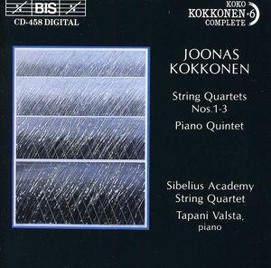 String Quartets 1, 2 & 3 /  Piano Quintet