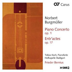 Piano Concerto Op 1 /  Entr'actes