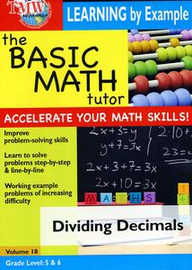 Basic Math Tutor Dividing Decimals