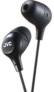 JVC HAFX38B Marshmallow Earphones Black