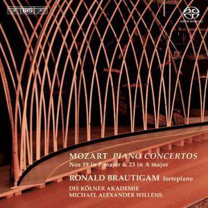 Mozart Piano Concertos Nos 19 & 23
