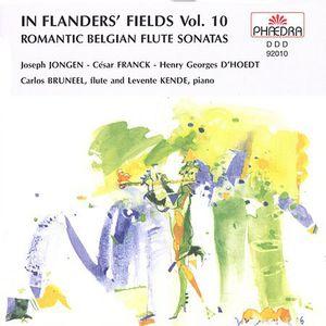 Romantic Belgian Flute Sonatas