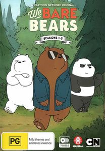 We Bare Bears: Seasons 1-3 [Import]