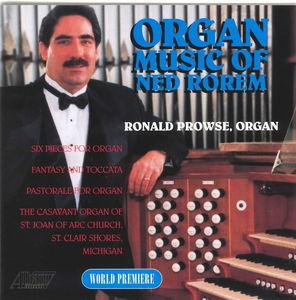 Organ Music of Ned Rorem