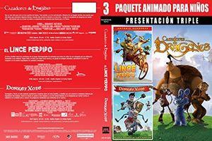 Paquete Animado Para Ninos: Presentacion Triple 1