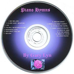 Piano Hymns By Gary Lyn