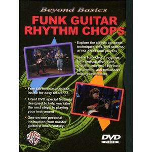 Beyond Basics: Funk Rhythm Chops