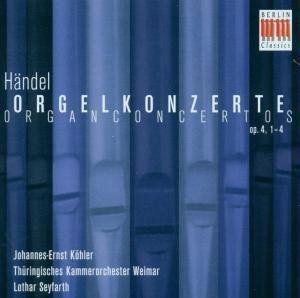 Organ Concerto Op. 4 1-4