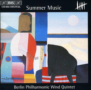 Summer Music Op.31 /  Carter: Woodwind Qntet /  Etc