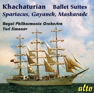 Famous Ballet Suites: Spartacus Gayaneh Maskarade