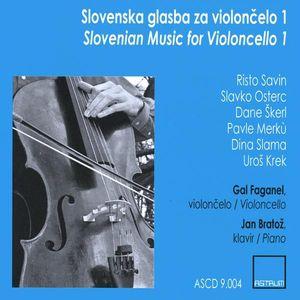 Slovenian Music for Violoncello 1