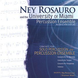 Ney Rosauro & University of Miami Percussion Ensemble