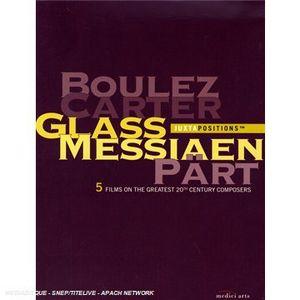 Juztapositions Box: Boulez Carter Glass Messiaen