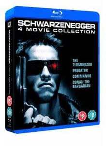 Arnold Schwarzenegger: 4 Movie Collection [Import]