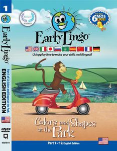 Early Lingo Colors & Shapes at TH Park. Part 1 Eng [Import]