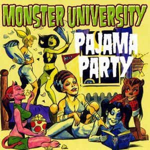 Monster University Pajama Party