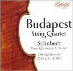 Budapest String Quartet Plays Schubert