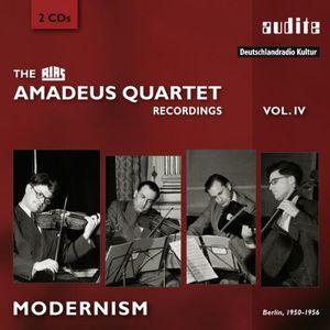 Rias Amadeus Quartet Recordings 4 - Modernism