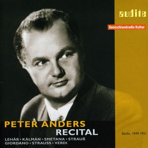 Peter Anders Recital