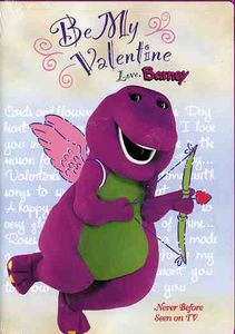 Be My Valentine Love Barney