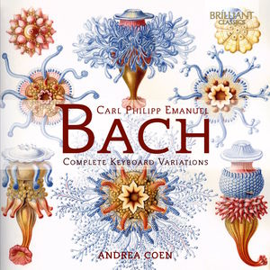 C.P.E. Bach: Complete Keyboard Variations