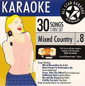 Karaoke: Mixed Country, Vol. 8