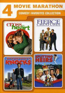 4 Movie Marathon: Comedy Favorites Collection