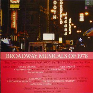Broadway Musicals Of 1978