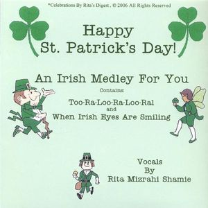 Happy St. Patrick's Day. Two Songs & a Poem for TH