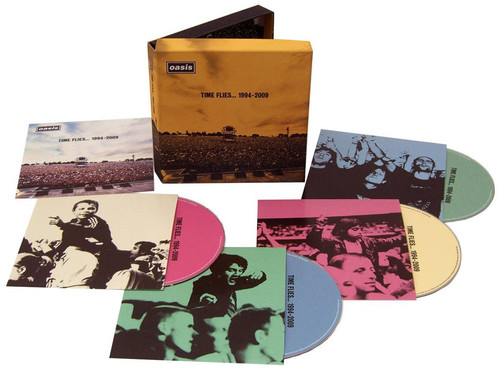 Oasis-Time Flies...1994-2009 [Clamshell] [Box Set] [3CD and 1DVD]