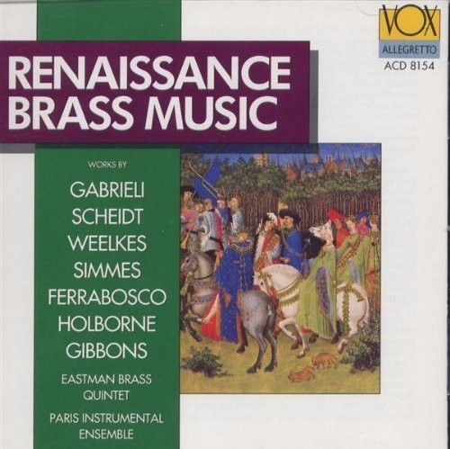 Renaissance Brass Music /  Paris