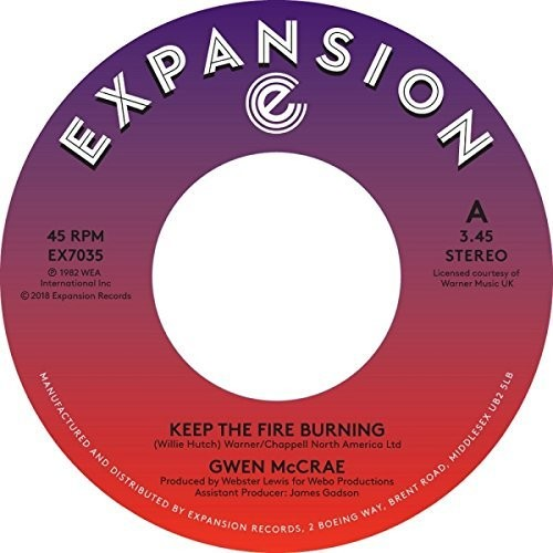 Keep The Fire Burning /  Funky Sensation [Import]