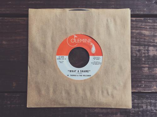 Jr. Thomas & The Volcanos - What A Shame / Brian Wilson [Vinyl Single]
