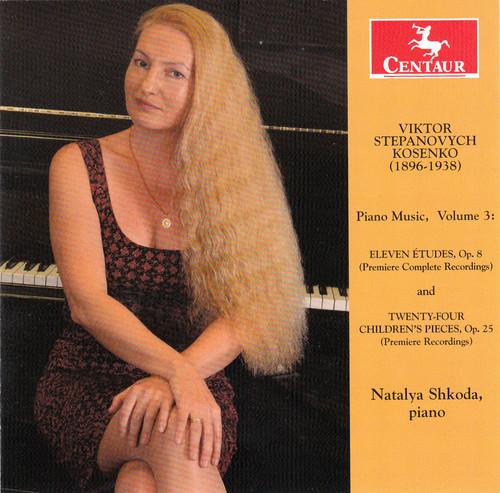 Kosenko: Piano Music, Vol. 3